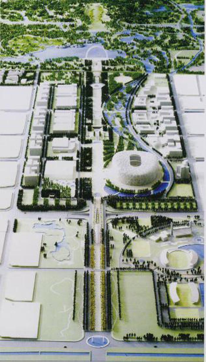 奥林匹克森林公园,奥林匹克公园中心区